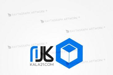 طراحی لوگو فروشگاه اینترنتی کالا 21